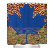 Oh Canada 2 Shower Curtain