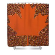 Oh Canada 5 Shower Curtain
