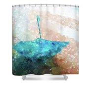 Oh Fickle March Shower Curtain