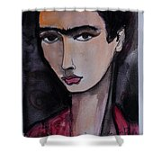 Oh For Frida Shower Curtain