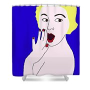 Oh My Shower Curtain