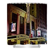 Ohio And State Theaters Shower Curtain