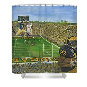Ohio State Vs. Michigan 100th Game Shower Curtain