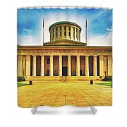 Ohio Statehouse Shower Curtain
