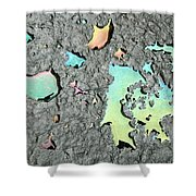 Oil Abstract Shower Curtain
