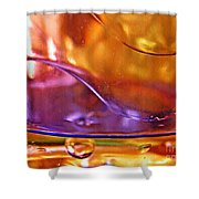 Oil And Water 14 Shower Curtain