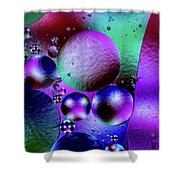 Oil And Water 2 Shower Curtain