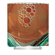 Oil And Water 22 Shower Curtain