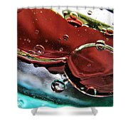 Oil And Water 23 Shower Curtain