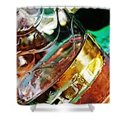 Oil And Water 28 Shower Curtain