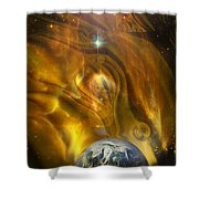 Oil From Heaven Shower Curtain