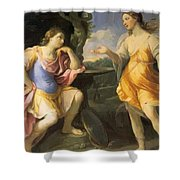 Oil Painting Shower Curtain