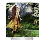 Oil Paintings Shower Curtain