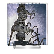 West Texas Oil Well #1 Shower Curtain