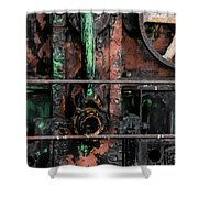Oil Well Shower Curtain
