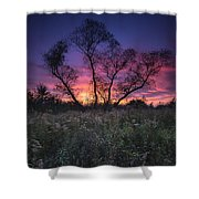 Ojibway Sunset Shower Curtain