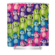 Ok Smiles Everyone Shower Curtain