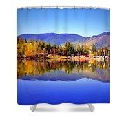 Okanagan Mountains Shower Curtain