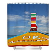 Okay In Thailand Shower Curtain