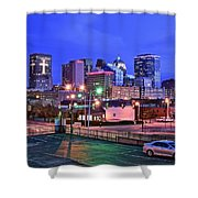 Okc Early Evening Shower Curtain