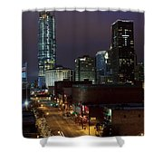 Okc Evening Shower Curtain