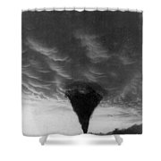 Oklahoma Tornado, C1898 - To License For Professional Use Visit Granger.com Shower Curtain