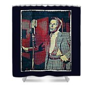 Ol' Blue Eyes - Frank Sinatra Shower Curtain