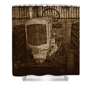Ol Yeller In Sepia Shower Curtain