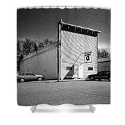 Old 10 Saloon Buffalo North Dakota Shower Curtain