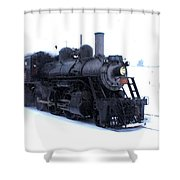 Old 89 Is Passing By Shower Curtain