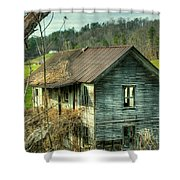 Old Abandoned Home Shower Curtain