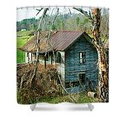 Old Abandoned Rural Hose Shower Curtain