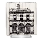 Old Abbey Theatre 1 Dublin Shower Curtain