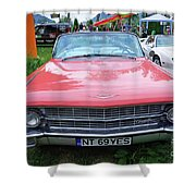 Old American Car Shower Curtain