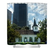 Old And New Houston Shower Curtain