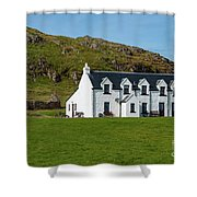 Old And New Iona Architecture Shower Curtain