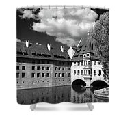 Old Architecture  Nuremberg Shower Curtain