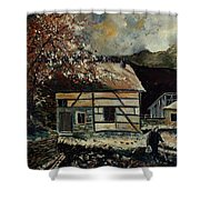 Old Ardennes 56 Shower Curtain