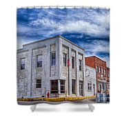 Old Bank Building - Peterstown West Virginia Shower Curtain