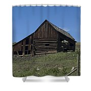 Old Barn 1 Shower Curtain