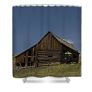 Old Barn 2 Shower Curtain