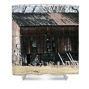 Old Barn-6 Shower Curtain