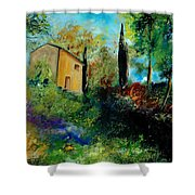 Old Barn In Provence  Shower Curtain
