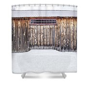 Old Barn Musterfield Farm Shower Curtain