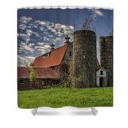 Old Barn Near Sedalia Mo Dsc01900 Shower Curtain