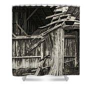 Old Barn Ruin 3 Shower Curtain