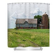 Old Barn Country Scene 4 A Shower Curtain