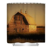 Barn Of North Dakota Shower Curtain