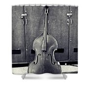 Old Bass Shower Curtain