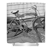 Old Bike Shower Curtain